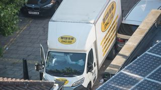 A van used to attack worshippers in Finsbury Park
