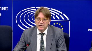 Guy Verhofstadt called President Trump's visit to Europe a disaster