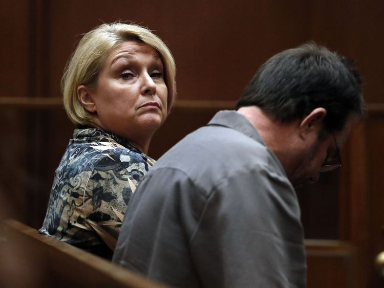 Samantha Geimer appears in court