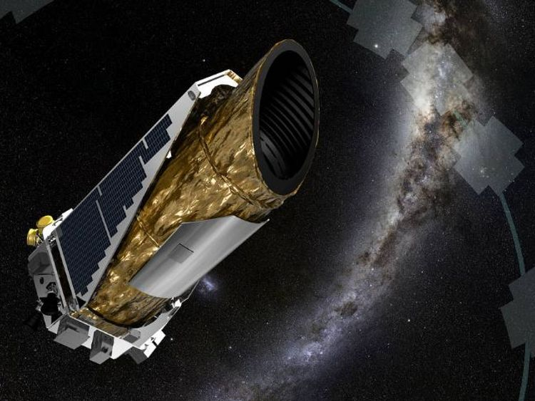 NASA image of what Kepler looks like in operation