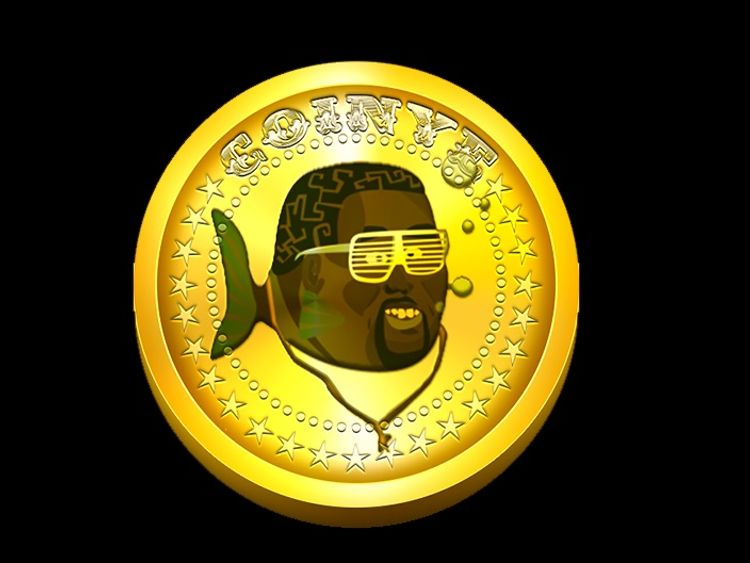 Coinye, formerly Coinye West, collapsed after a trademark infringement suit
