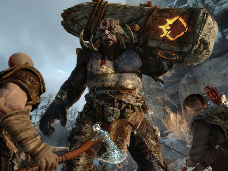 Sony highlighted its reboot of the God of War series at E3