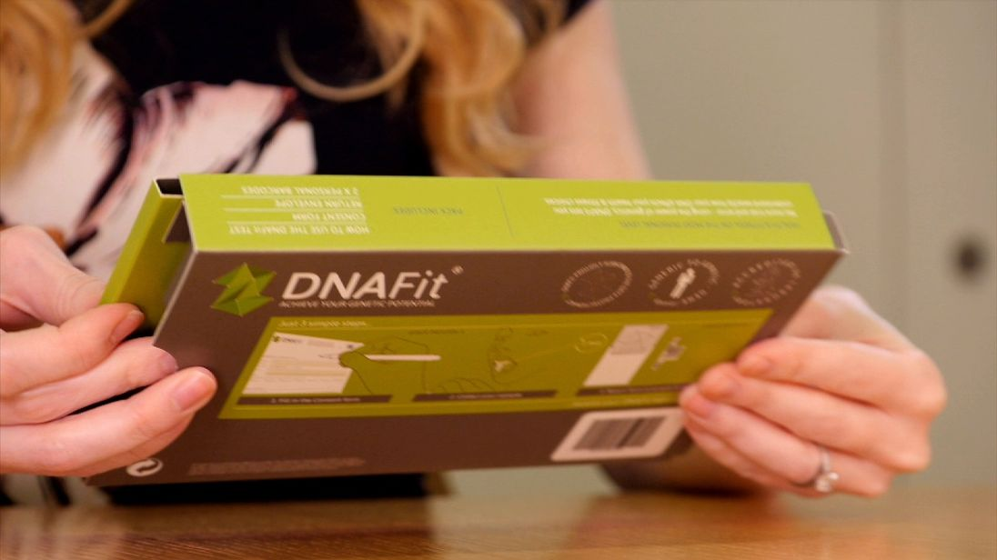 DNAFit claims to use DNA profiling to provide a balanced diet and exercise regime