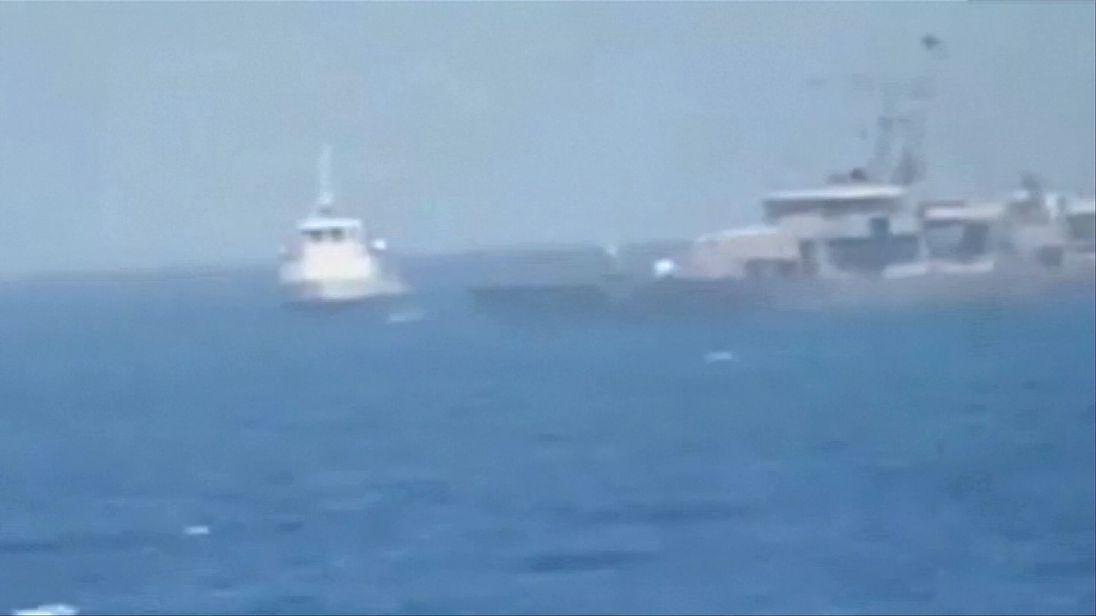 US and Iran skirmish at sea with warning shots fired