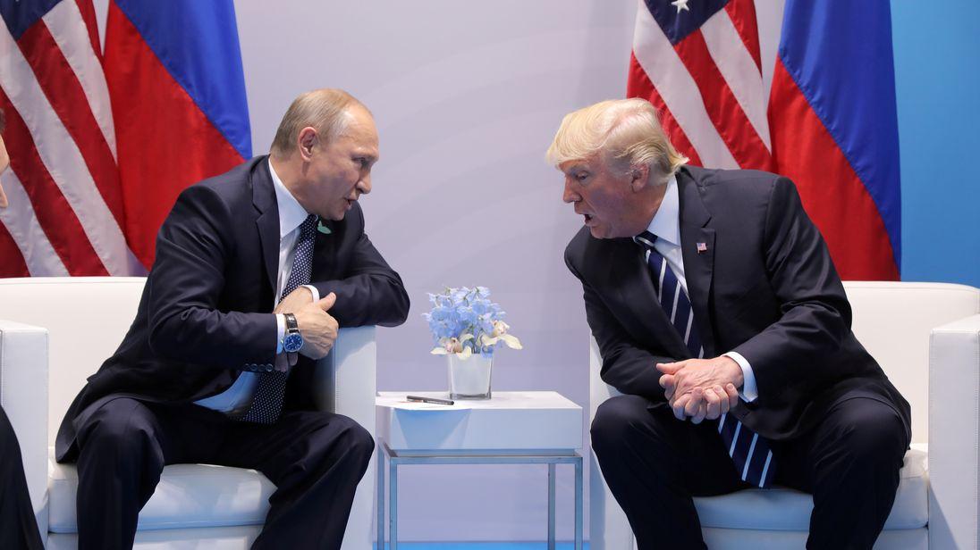 President Putin and President Trump met at a summit in Hamburg last week