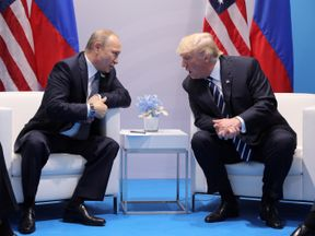 President Putin and President Trump met at a summit in Hamburg last week