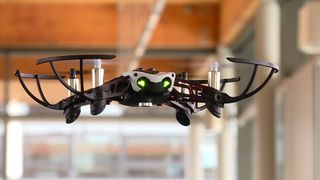 Drones are being used in a high-tech hackathon at the University of Cambridge