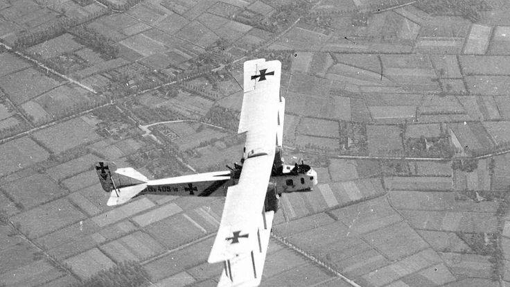 German WW1 bomber