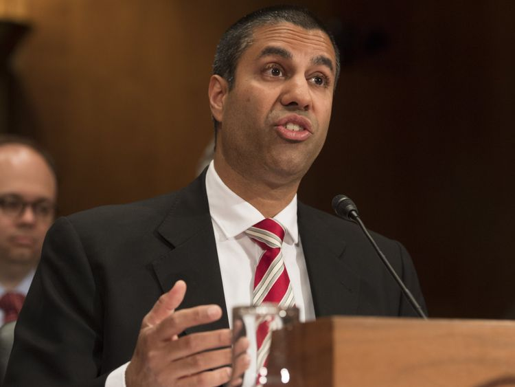 Ajit Pai, Chairman of the Federal Communications Commission (FCC)