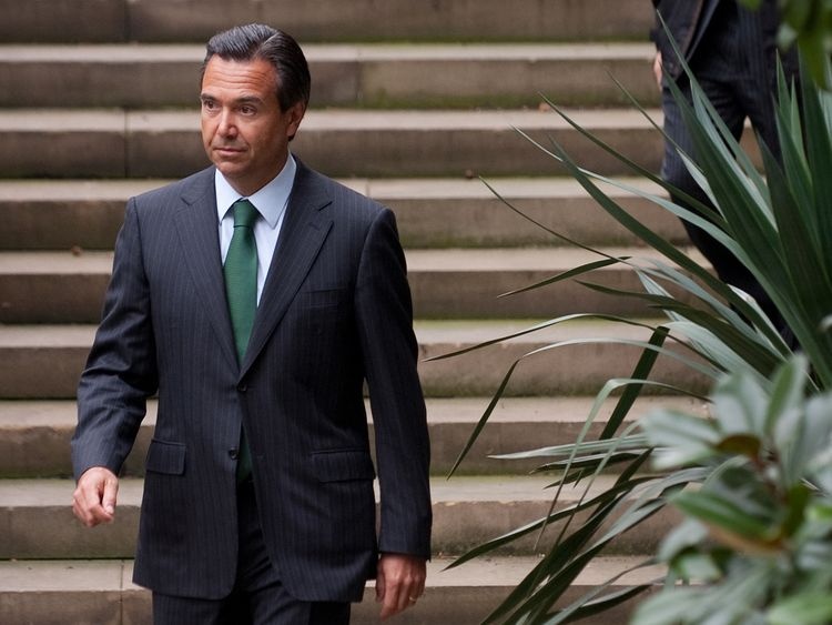 Lloyds Banking Group's CEO Antonio Horta-Osorio