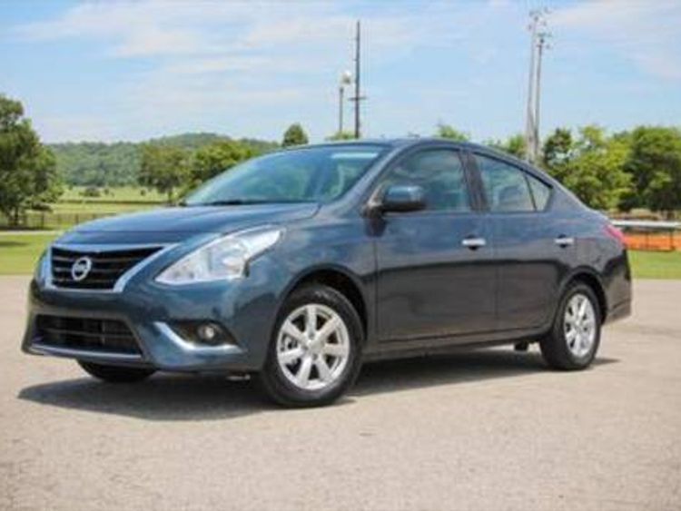 The missing Nissan Versa sedan