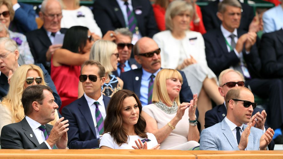 The Duke and Duchess of Cambridge at Wimbledon
