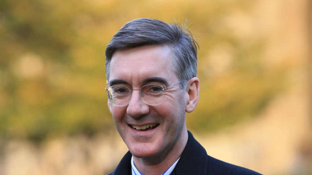 Conservative MP Jacob Rees-Mogg