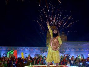 The bling-loving spiritual guru was the star of his very own film franchise
