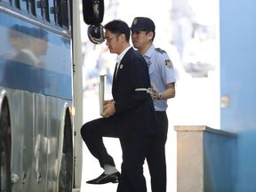 Lee Jae-yong, Samsung Group heir, leaves after his verdict trial at the Seoul Central District Court in Seoul, South Korea August 25, 2017.