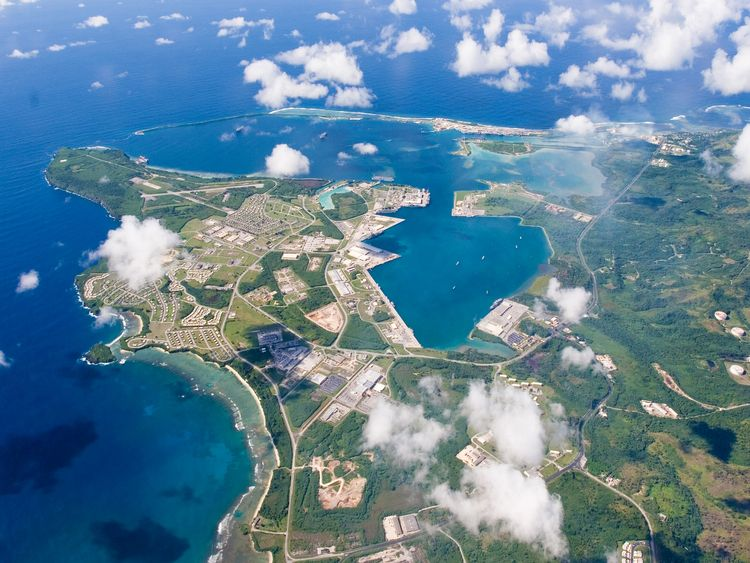 US Naval Base Guam