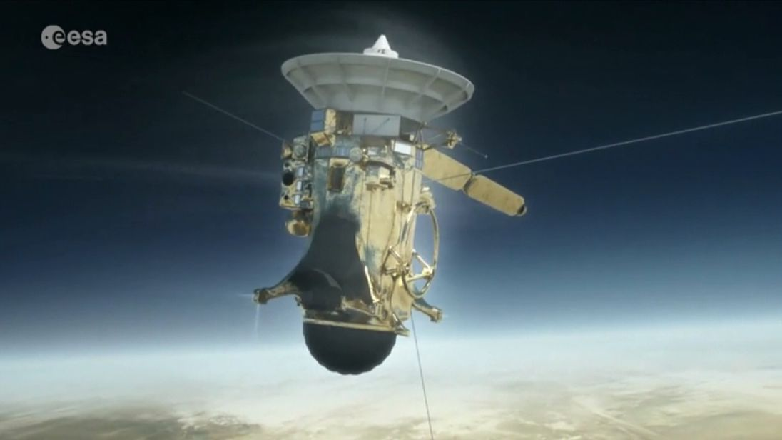 Cassini will eventually burn up above Saturn, having sent in its final set of data