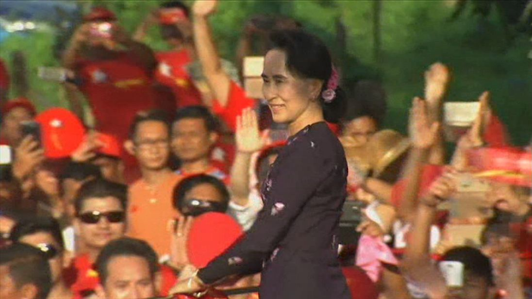 Aung San Suu Kyi has received criticism for apparently not speaking out over persecution of the Rohingya Muslim population in Myanmar