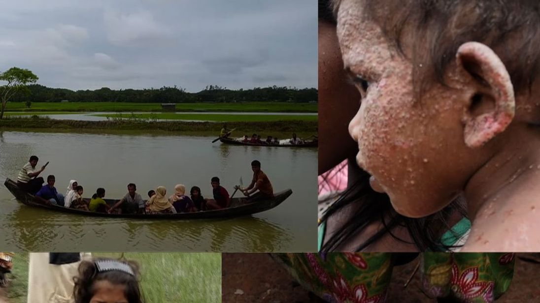 Hundreds of thousands of Rohingya Muslims have been fleeing to Bangladesh