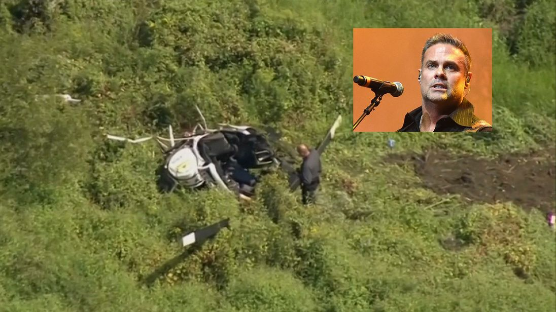 Troy Gentry died in the helicopter crash