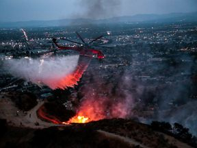 Homes in Burbank and Glendale have been evacuated