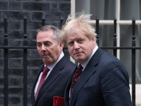 Liam Fox and Boris Johnson