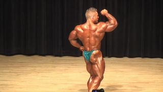 James 'Flex' Lewis has won the Mr Olympia totle six times in a row