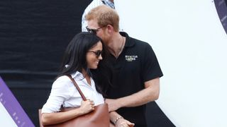 There has been lots of press attention surrounding Prince Harry's relationship with Meghan Markle - and he complained in November about intrusion