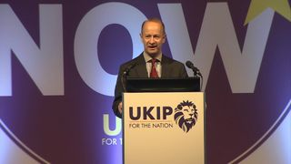 Henry Bolton is announced as UKIP leader