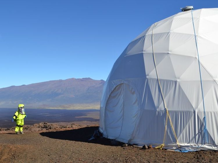 Mauna Loa was selected as the Mars-like environment. Pic: University of Hawaii/HI-SEAS