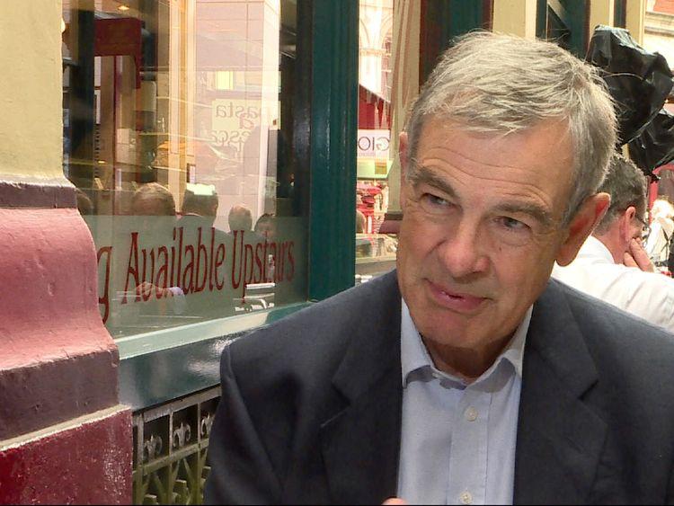 Sir John Gieve, former deputy governor of the Bank of England
