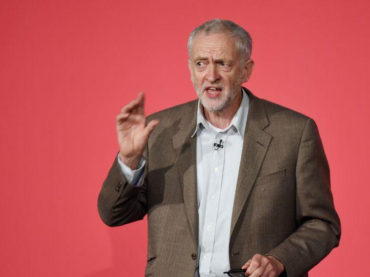 Jeremy Corbyn in 2015