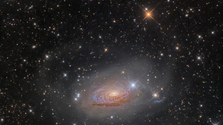 M63 Star Streams and the Sunflower Galaxy. Pic: Oleg Bryzgalov