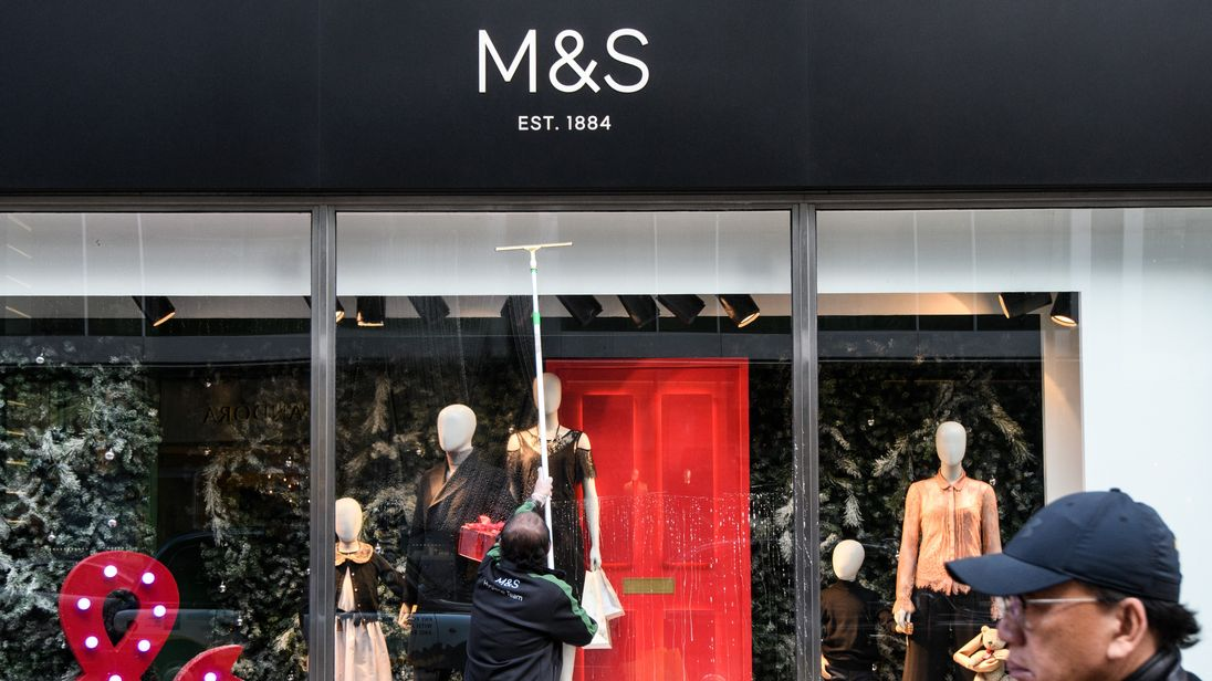 A Marks and Spencer branch in Oxford Street, London