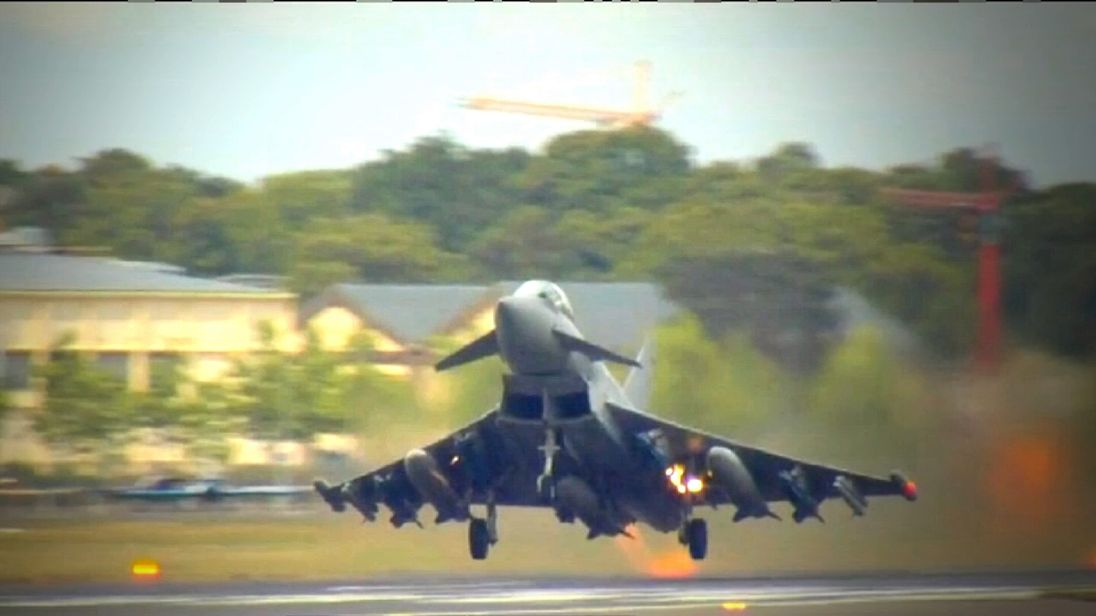 Typhoon work currently employs 4,000 people at BAE