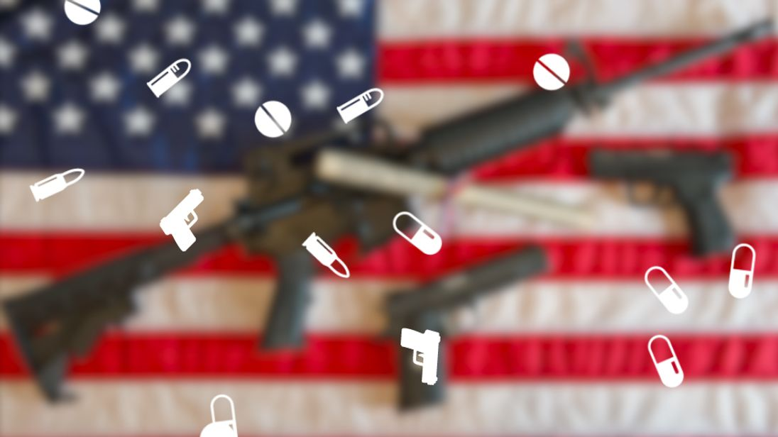 America's gun addiction