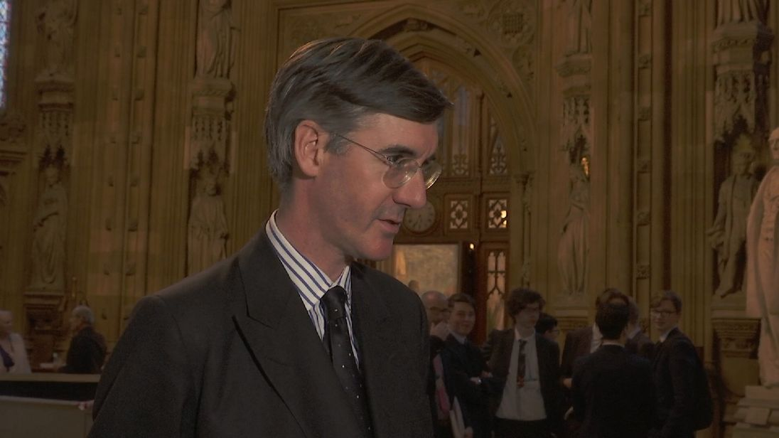 Conservative Jacob Rees-Mogg comments on the progress of Brexit negotiations