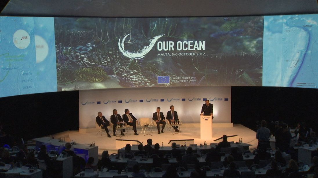 Our Oceans conference in Malta