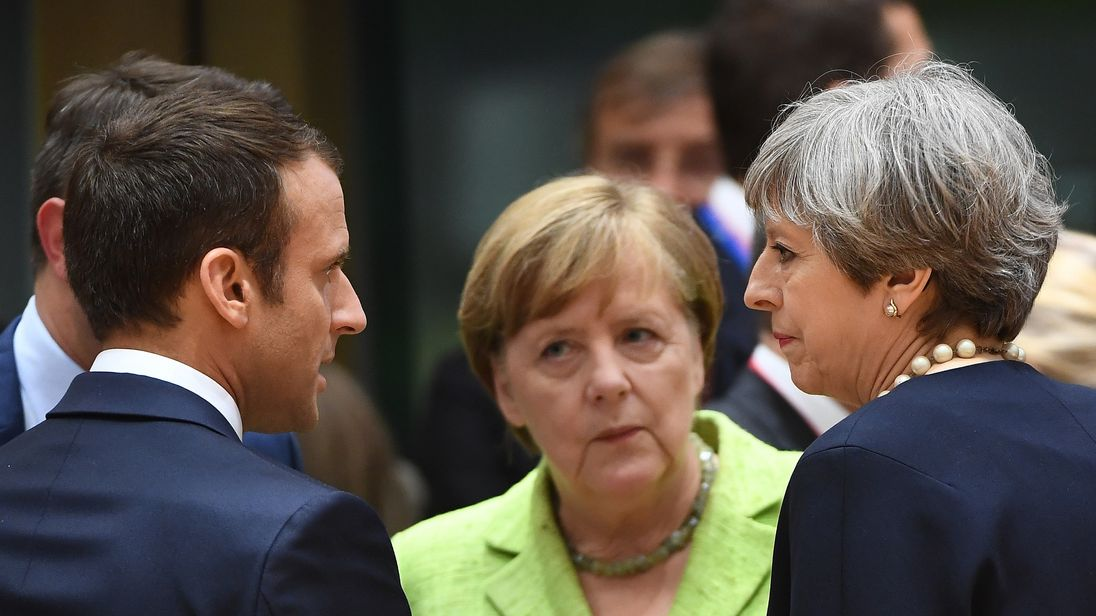 Theresa May had hoped EU leaders would support her plans for a transition deal