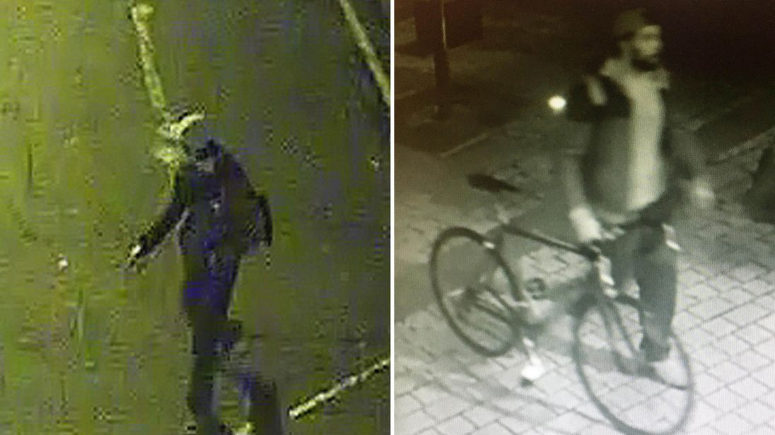 Police want to speak to these two men in connection with the sexual assaults