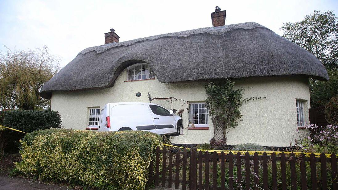 The van in Maulden, Bedfordshire