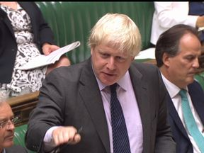 Boris Johnson accuses SNP of trivialising Libya situation