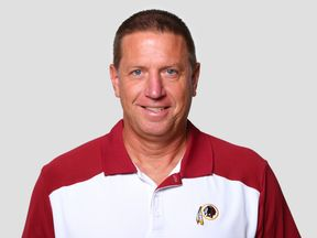Chris Foerster, when he was a coach for the Washington Redskins