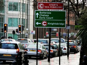 The new congestion charging zone