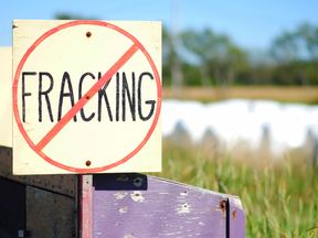 The decision followed detailed research into the potential impact of fracking