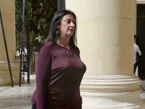 Ms Caruana Galizia was facing lawsuits as a result of her work