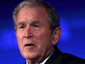 George W Bush worried about US democracy
