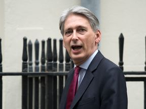 Philip Hammond leaves a recent meeting at Number 10 Downing Street