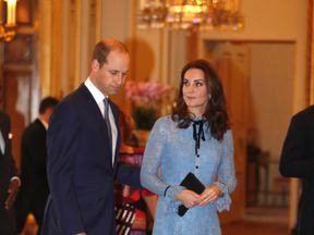Kate had not appeared in public since the announcement of her pregnancy