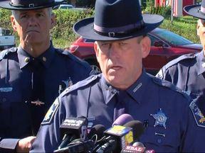 Harford County sheriff Jeffrey Gahler called the shooting 'heinous'